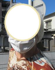 マスクも忘れません