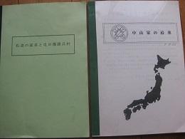 母の従兄弟中山Tさんが作成した2冊の冊子「私達の家系と篠路屯田兵村」(左)    「中山家の改革」(右)