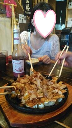 お好み焼き餃子(砂肝入り)      なんじゃ、それ?