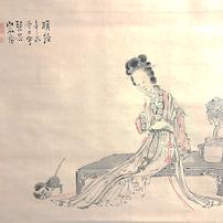 王昭君と猫 山本琴谷画
