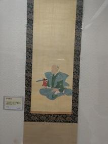 古賀穀堂肖像画 佐賀藩年寄。  古賀精里の長男