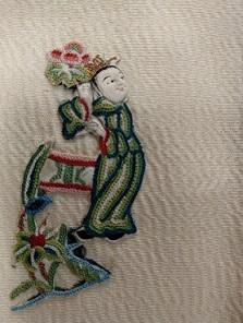 刺繍とは思えない豊かな顔の表情