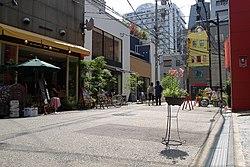 順慶町は現在の南難波付近        写真はいずれもネットより