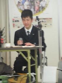 ナレーションは熊野高校生