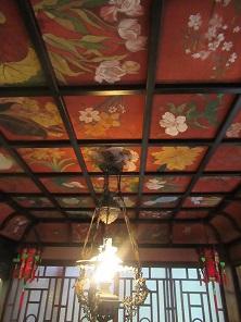 参考 「花月」日本最古の洋間天井