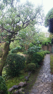 江戸時代の敷石
