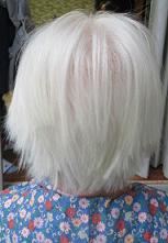 アフター      ホントにきれいな白髪