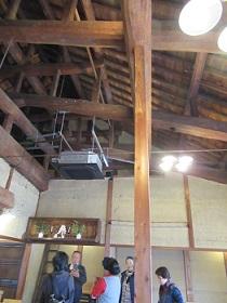 レストランの2階。古民家を改装したレストランは各地で増えている。