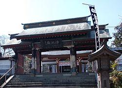 加藤清正を祀る浄池廟のある本妙寺