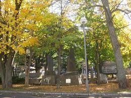 「屯田の森」は札幌西区役所の横にある。