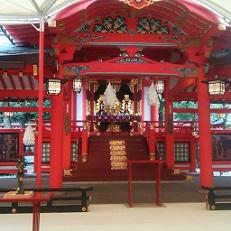 生田社拝殿