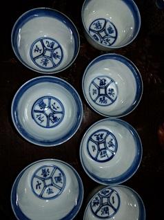 盧仝「茶の歌」煎茶碗  木米写し