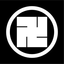 蜂須賀家の家紋の一つ「蜂須賀万字 」