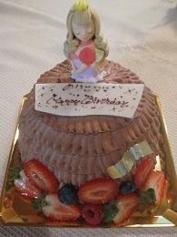 食べるのが惜しいケーキ
