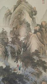 三谷春の画童子が煎茶