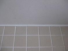 私が修理した浴室のパッキング部分
