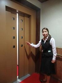 エレベーターも完備。