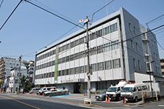 向島警察署の建物