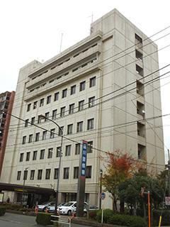 品川警察署の建物