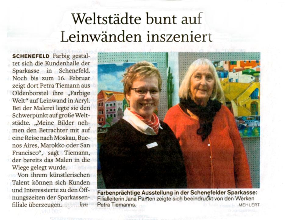 Artikel aus der Norddeutschen Rundschau, Mitteilungsblatt Freitag 27.01. 2017
