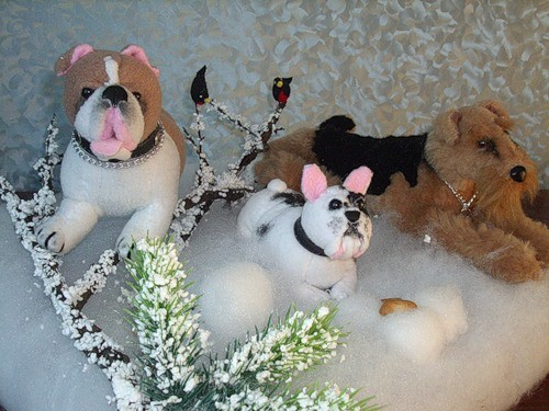 """Работа для выставки """"Собаки на привале"""""""