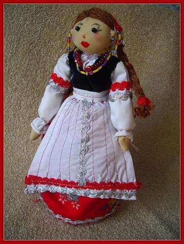 Кукла в белорусском наряде