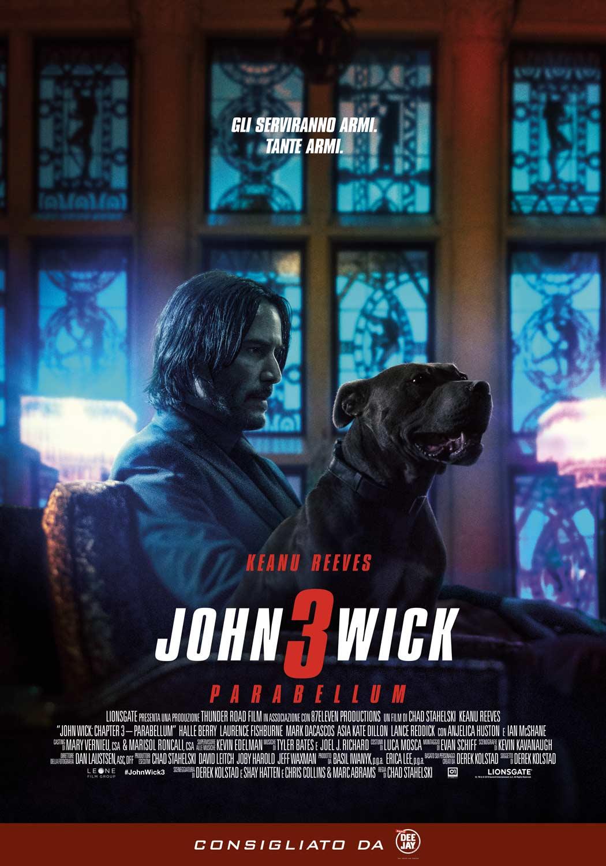 JOHN WICK 3 PARABELLUM giovedì 30, sabato 1, domenica 2: ore 21:15 venerdì 31: ore 18:30 #JohnWick3Parabellum