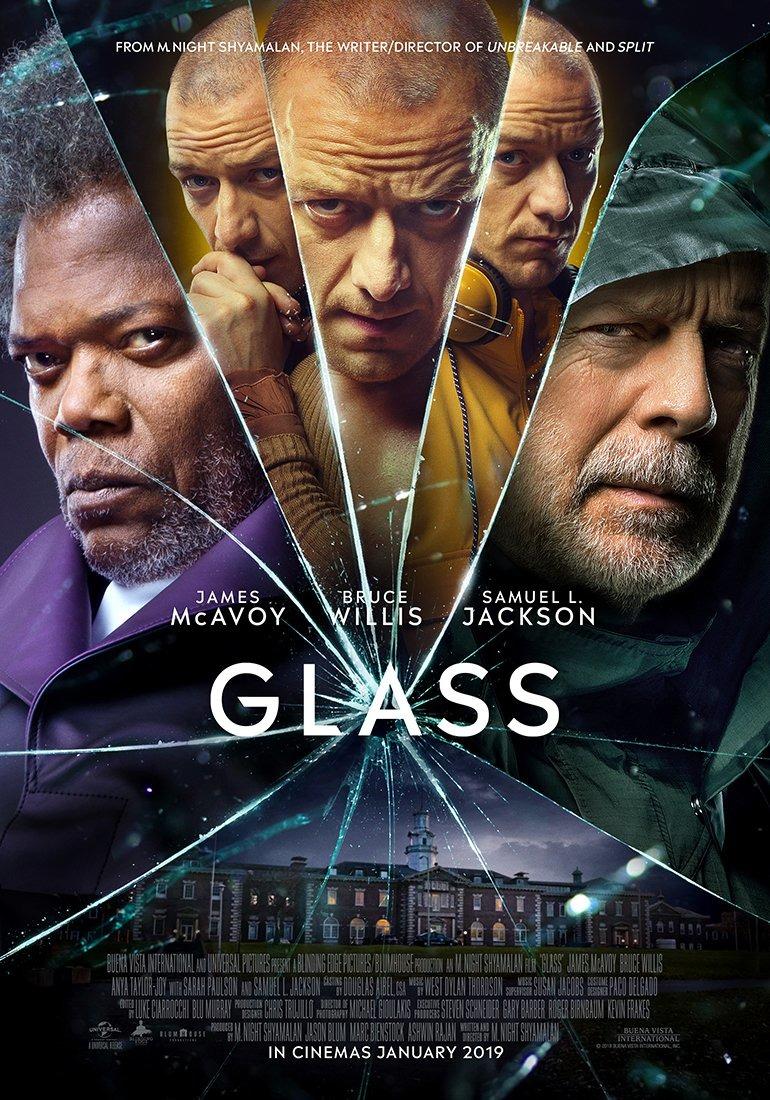 GLASS giovedì 24 e venerdì 25: ore 21,15 sabato 26 e domenica 27: ore 18,30 – 21,15 #Glass