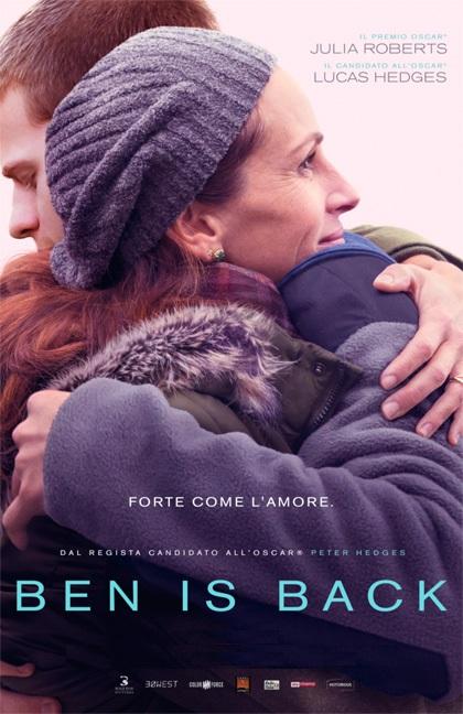 BEN IS BACK da venerdì 28 a lunedì 31: ore 21,15 martedì 1: ore 18,30 #BenIsBack