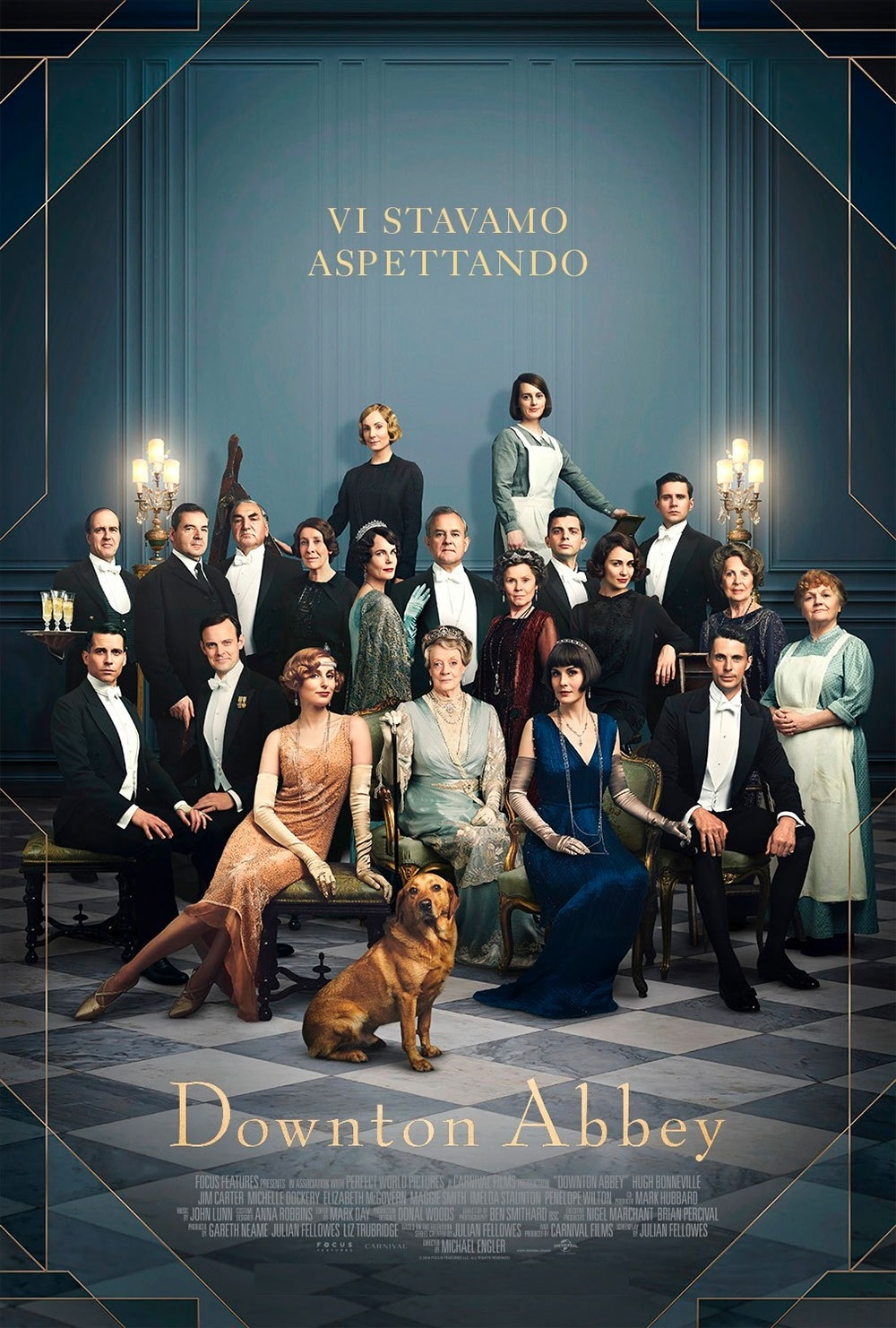DOWNTON ABBEY giovedì 7, sabato 9: ore 21:15  domenica 10: ore 16:30 - 18:30 #DowntonAbbeyIlFilm