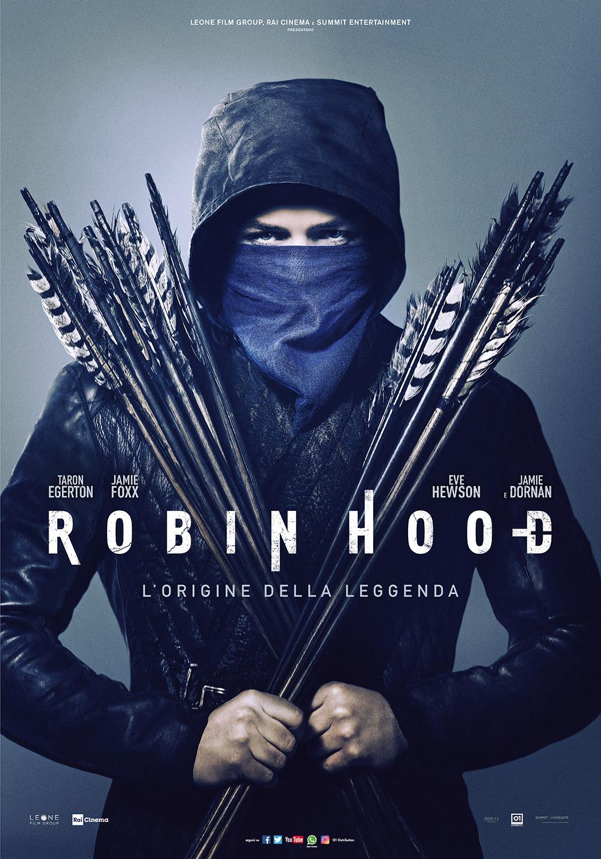 ROBIN HOOD – L'origine della leggenda mercoledì 26, venerdì 28, domenica 30: ore 18,30 giovedì 27, sabato 29, lunedì 31: ore 16,30 #RobinHoodLorigineDellaLeggenda