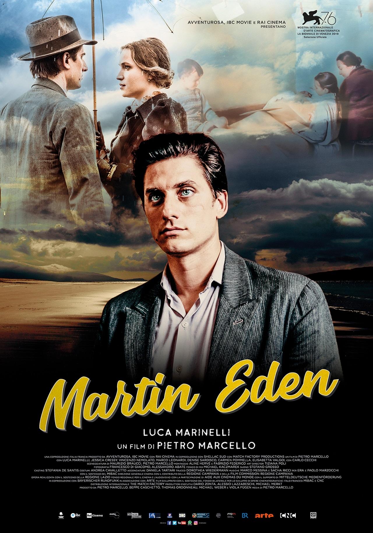 MARTIN EDEN mercoledì 11, giovedì 12, venerdì 13: ore 21:15  sabato 14, domenica 15: ore 18:30 -  21:15 #MartinEden