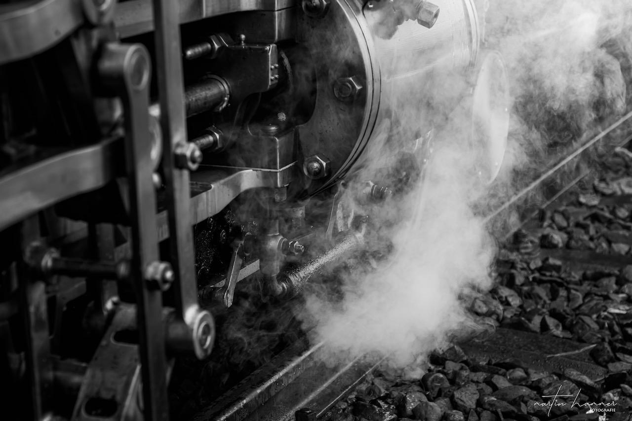 Die Lok 7 der Rigi Bahnen