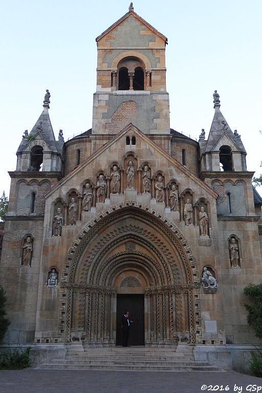 Nachbau der Kirche von Ják