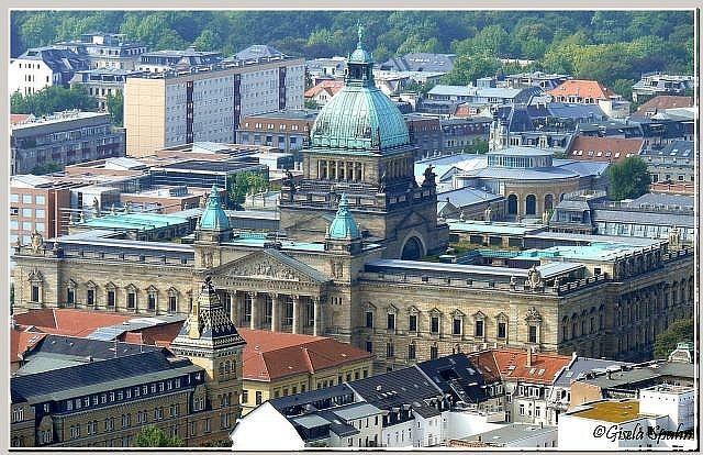 Das ehem. Reichsgericht, heute Bundesverwaltungsgericht