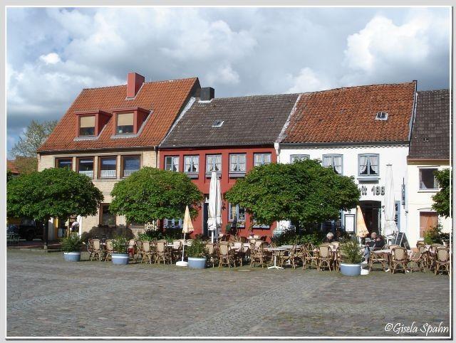 Der Marktplatz von Schleswig
