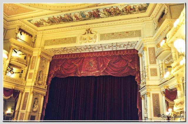 Semperoper - Bühne