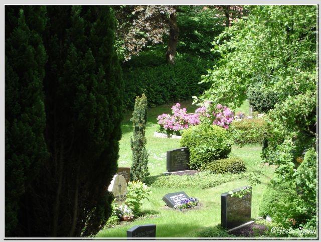 Der Friedhof in Eckernförde-Borby