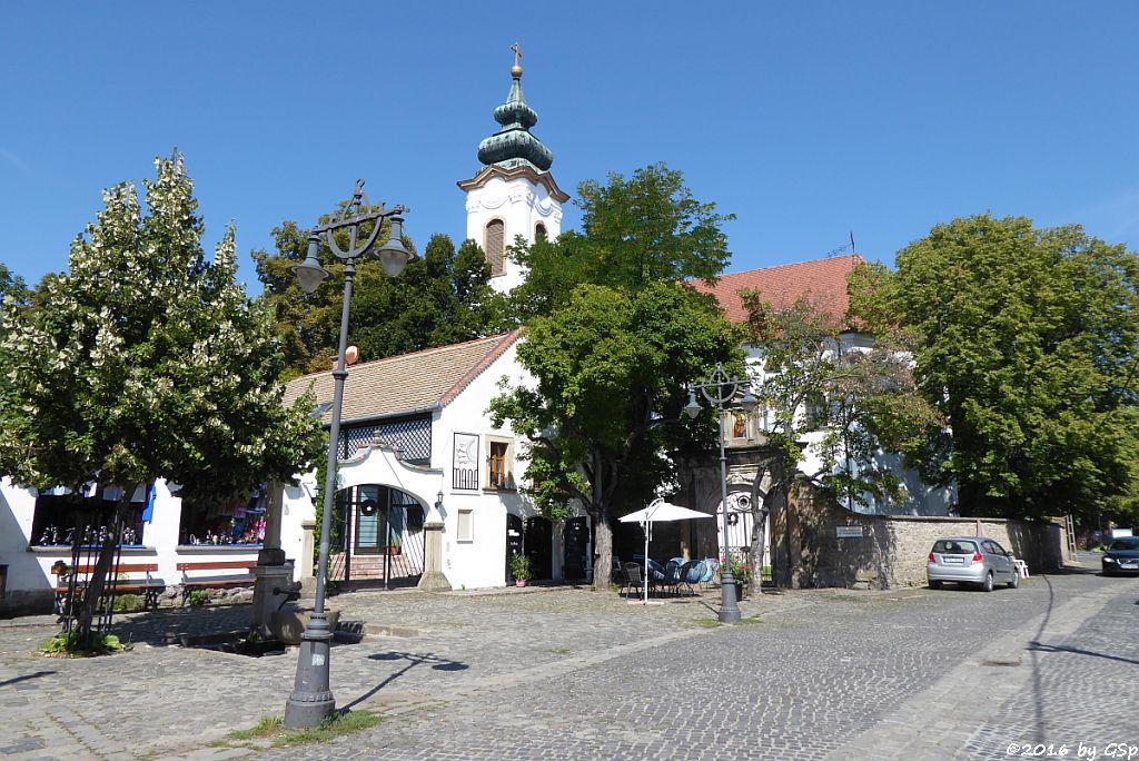 die Serbisch-orthodoxe Verklärungskirche (Preobrazsenszka)
