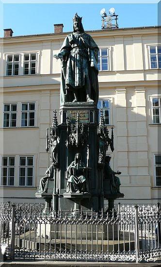 Denkmal Kaiser Karl IV