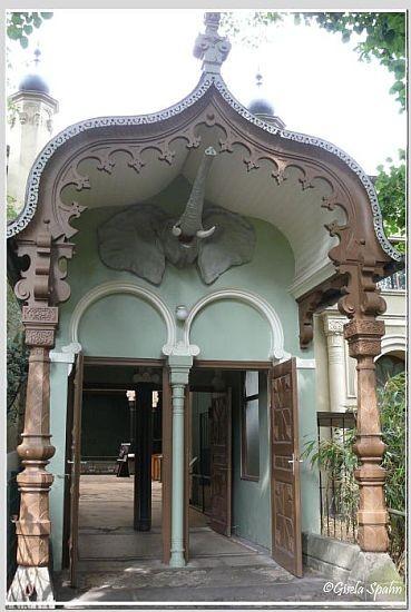 Eingang ehem. Elefantenhaus