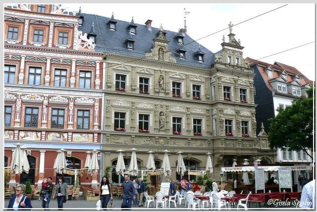 Fischmarkt: Haus zum Breiten Herd und Gildehaus erb.1584