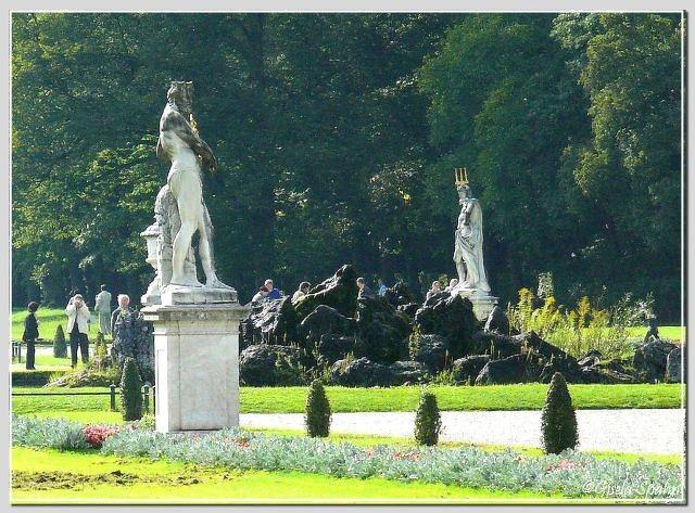Schloss Nymphenburg: Schlossgarten