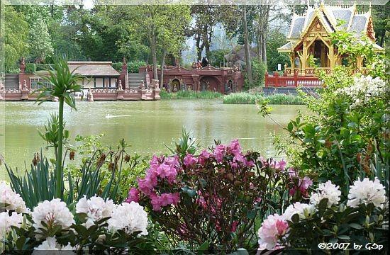 Birma-Teich m. Thai-Pavillon