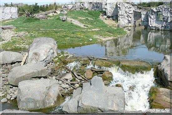 Alkaska-Berglandschaft