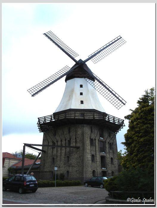 Die Holländermühle Amanda in Kappeln (auch hier gelegentlicher Drehort)