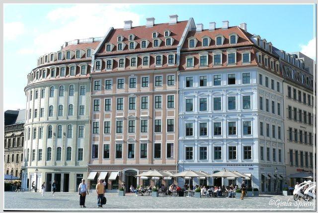 Neues Quartier westl. der Frauenkirche