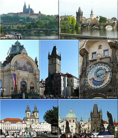 Rundgang durch Prag - 67 Fotos