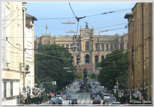 Das Maximilianeum, Sitz des Bayr. Landtages