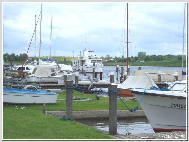 Der Hafen von Arnis (auch hier wieder eine gelegentlicher Drehort)